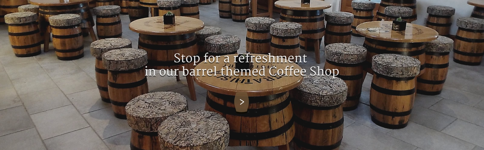 Speyside Cooperage Coffee Shop Craigellachie Moray